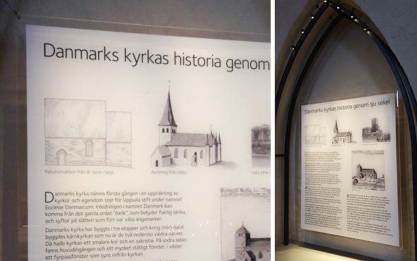 Danmarks kyrka skylt